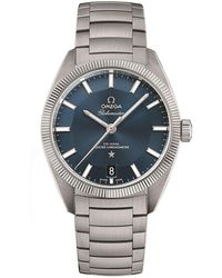 Omega - Globemaster Co-axial Master Chronometer Watch - Lyst