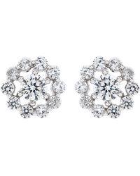 Carat* - Flora Stud Earrings - Lyst