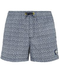 North Sails - Logo Print Swim Shorts - Lyst