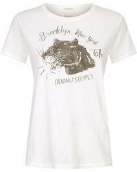 Denim & Supply Ralph Lauren - Tomboy Panther T-shirt - Lyst