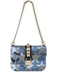 Valentino - Small Camustars Shoulder Lock Bag - Lyst