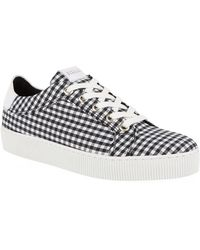 Claudie Pierlot - Check Trainers - Lyst