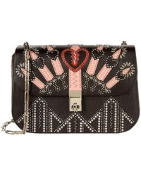 Valentino - Small Love Blade Embellished Shoulder Bag - Lyst
