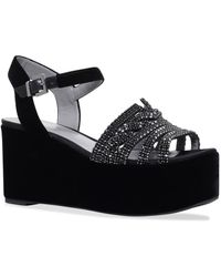 Gina | Luzon Embellishedwedge Shoes | Lyst
