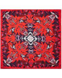 Turnbull & Asser - Printed Silk Pocket Square - Lyst