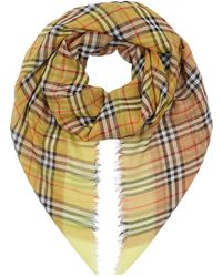 Burberry - Two-tone Vintage Check Scarf - Lyst