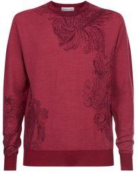 Etro | Paisley Print Sweater | Lyst