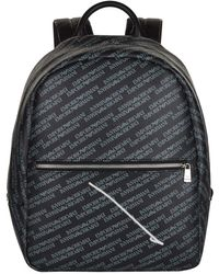 Armani - Logo Backpack - Lyst