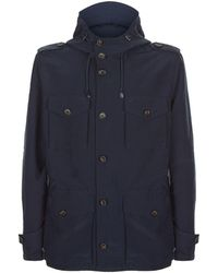 Paul & Shark - Micro-fibre Field Jacket - Lyst