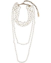 Weekend by Maxmara - Multi-strand Pearl Necklace - Lyst