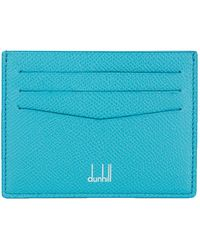 Dunhill - Dun Slg Ccholder Grained Lthr 8 Card - Lyst