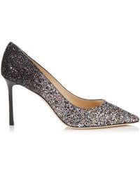 Jimmy Choo - Romy 85 Ombr Glitter Court Shoes - Lyst