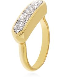 Monica Vinader - Baja Diamond Ring - Lyst