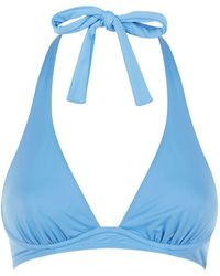 Max Mara - Halterneck Bikini Top - Lyst