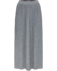 Weekend by Maxmara - Knitted Midi Skirt - Lyst