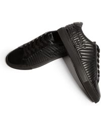 Lyst PUMA Suede Classic Mid Quilt High Top in Black for Men