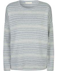 Eileen Fisher - Striped Sweater - Lyst