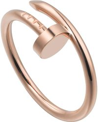Cartier - Pink Gold Juste Un Clou Ring - Lyst