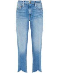 FRAME - Le Nouveau Straight Leg Jeans - Lyst