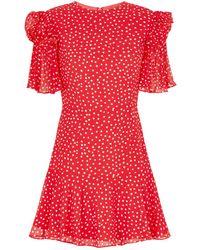 Keepsake - Moonshine Polka Dot Mini Dress - Lyst