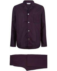 Derek Rose - Geometric Print Pyjama Set - Lyst