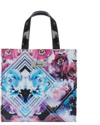 Harrods - Small Geo Floral Shopper Bag - Lyst