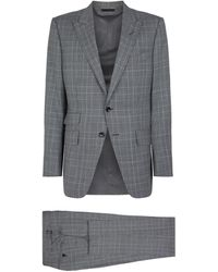 Tom Ford - Plaid Check Suit - Lyst