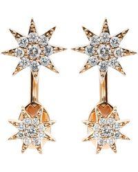 Bee Goddess - Star Drop Earrings - Lyst