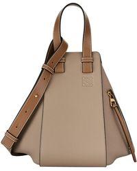 Loewe - Small Leather Hammock Bag - Lyst