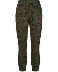 BBCICECREAM - Leopard Print Sweatpants - Lyst