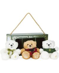 Harrods - Heritage Bear Collection (set Of 3) - Lyst