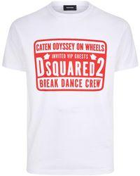 DSquared² - Break Dance Crew Motif T-shirt - Lyst