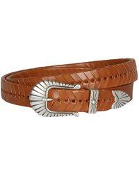 Isabel Marant - Jigoo Leather Braided Belt - Lyst