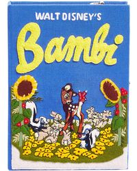 Olympia Le-Tan - Bambi Book Clutch Bag - Lyst
