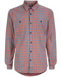 Barbour - Cotton Flannel Bonito Check Shirt - Lyst