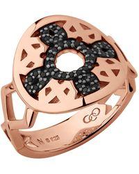 Links of London - Rose Gold Timeless Ring - Lyst
