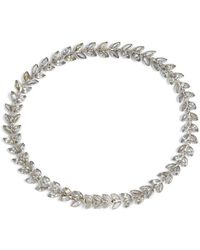 Annoushka - White Gold And Sapphire Vine Bracelet - Lyst