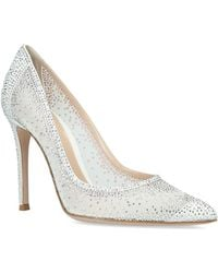 Gianvito Rossi - Crystal-embellished Rania Pumps 105 - Lyst