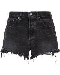 Moussy - Hays Denim Shorts - Lyst