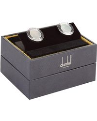 Dunhill - Mother Of Pearl Cufflinks - Lyst