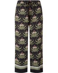 Markus Lupfer - Orla Desert Flower Cropped Trousers - Lyst