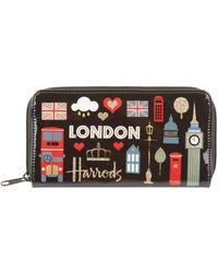 Harrods - Glitter London Wallet - Lyst