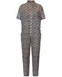 8cd68ec807 Étoile Isabel Marant - Lindsie Floral Cotton Jumpsuit - Lyst