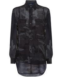 Polo Ralph Lauren - Printed Silk Shirt - Lyst