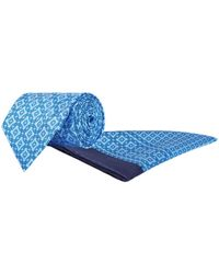 Stefano Ricci - Geometric Silk Tie And Pocket Square - Lyst