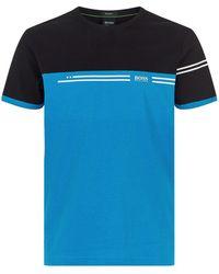 BOSS Green - Colour Block T-shirt - Lyst