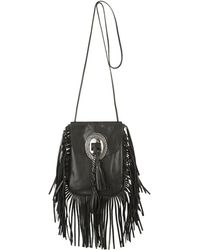 Saint Laurent - Anita Fringed Shoulder Bag - Lyst