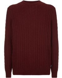 Barbour - Sanda Crew Neck Sweater - Lyst