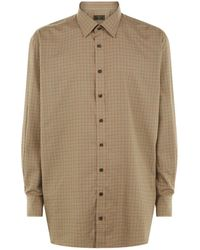 James Purdey & Sons - Grouse Check Shirt - Lyst