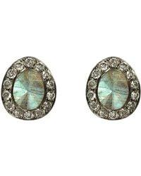 Annoushka | Dusty Diamonds Labradorite Stud Earrings | Lyst